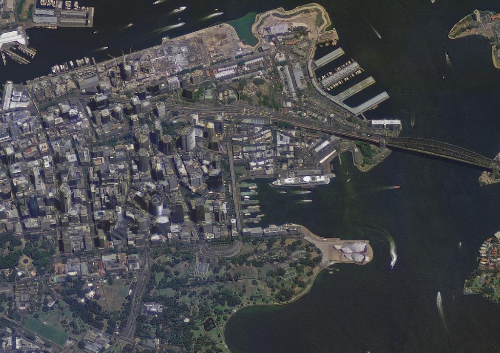 Пример снимка со спутника